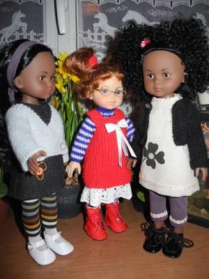 Présentation de mes poupées (suite 3)