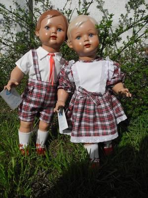Présentation de mes poupées (fin)