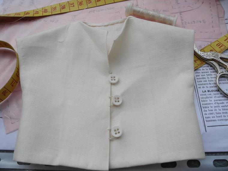 Françoise et la blouse de juin 1952 suite