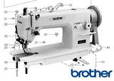 Brother Sewing Machine Parts Overview