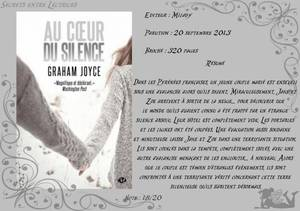 Au coeur du silence de Joyce Graham