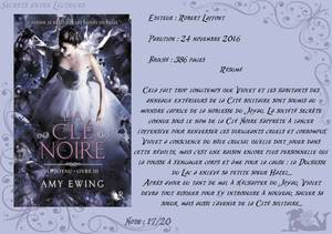Le Joyau Tome 3 : La Clé Noire d'Amy Ewing