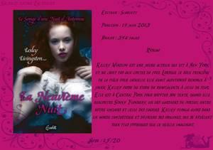 Le Songe d'une Nuit d'Automne Tome 1 : La Neuvième Nuit de Lesley Livingston