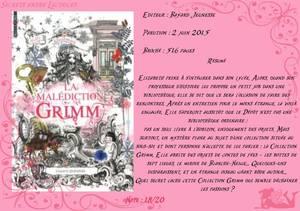 Grimm Legacy Tome 1 : La Malédiction Grimm de Polly Shulman