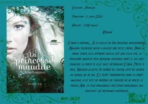 Les Royaumes invisibles Tome 1 : La Princesse maudite de Julie Kagawa