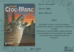 Croc-Blanc de Jack London