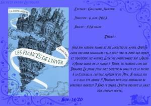 La Passe-Miroir Tome 1 : Les Fiancés de l'Hiver de Christelle Dabos