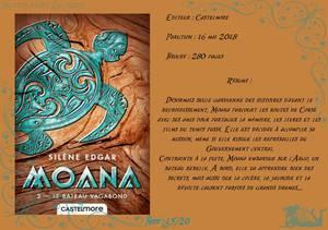 Moana Tome 2 : Le bateau vagabond de Silène Edgar