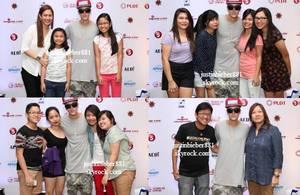 le 10 decembre 2013 - Justin à Tacloban, Philippines