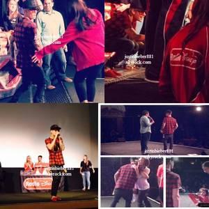 le 17 decembre 2013 - Justin à la Radio Power 106 , Los Angeles