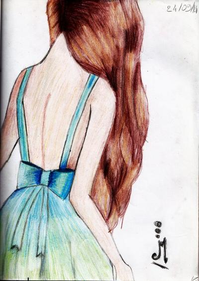 Dessin N°3: Reproduction d'une fille 1  ♥