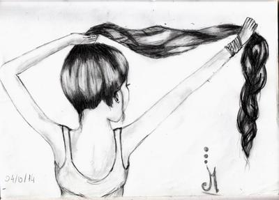Dessin N°5: Another girl ♥