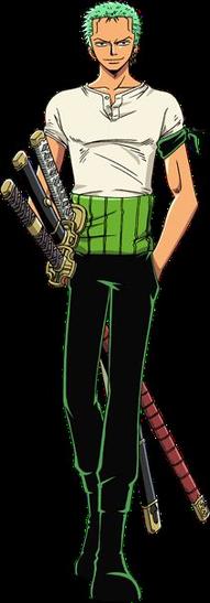 """Zorro Roronoa dit """"Le Chasseur de Prime"""" ( Avant et après )"""