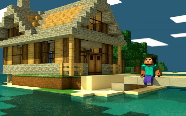 petite maison minecraft
