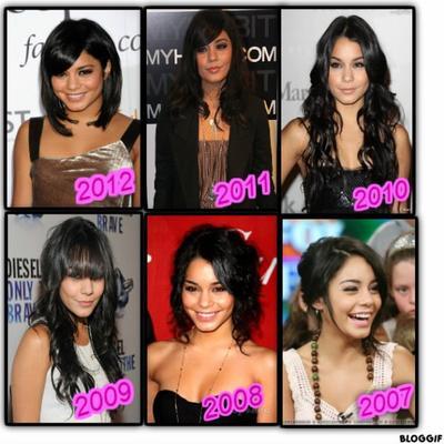 En quelle année préférez-vous Vanessa ?