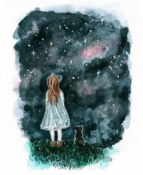 """"""" Et je me suis abime sous la tristesse amoureuse de la nuit. """" - Arthur Rimbaud"""