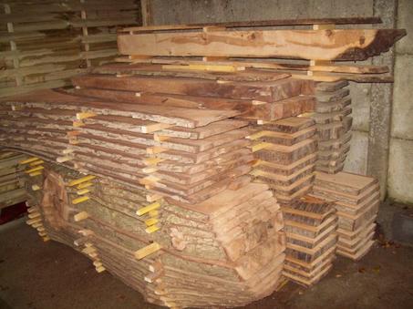 mon stock de bois