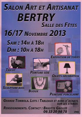 "salon ""Art et artisanat"" de Bertry"