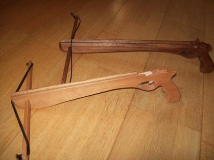 Arbalètes en bois