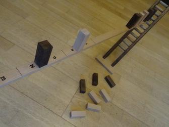 échelle en équilibre