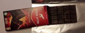 plaque chocolat en bois