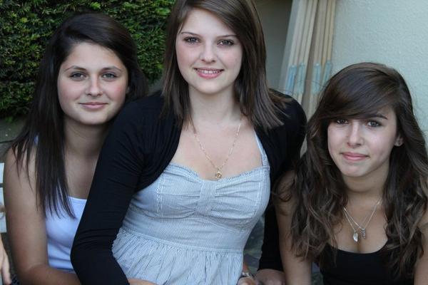 Léa , Céline & Clara