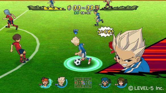 Inazuma Eleven Strikers : la vidéo promo