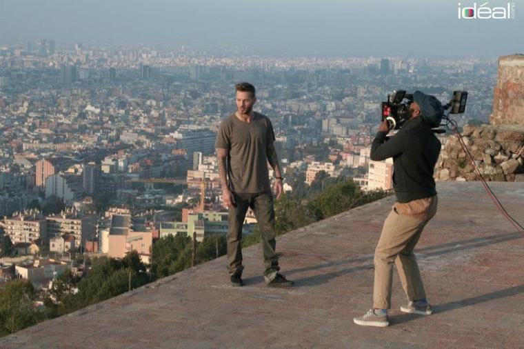 """Photos du clip """"On est là"""":"""