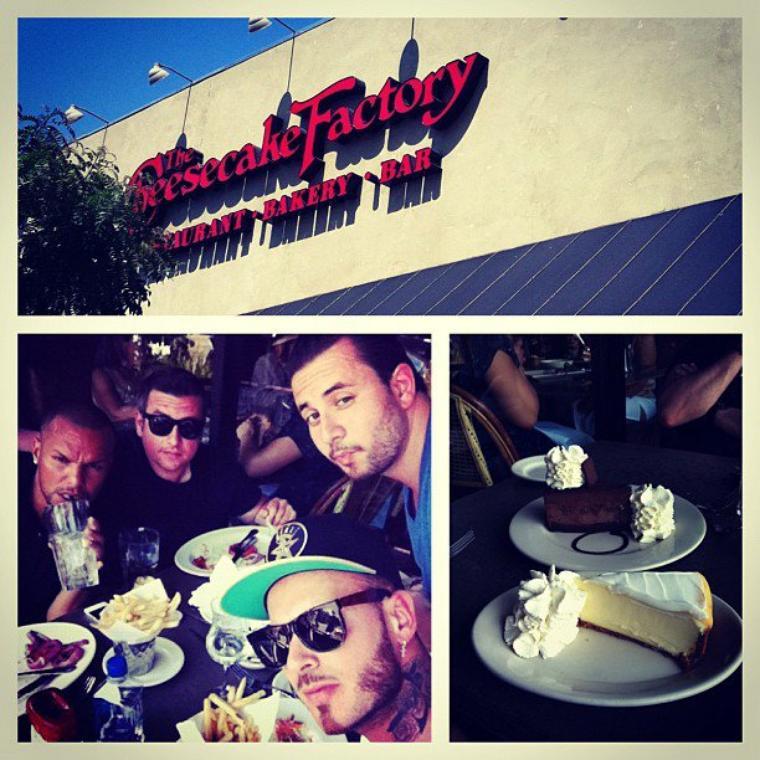 Matt, en vacances à Los Angeles, des vacances bien mérités: