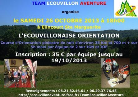 CO nocturne à Saint-Michel & CO Wassigny -19&20.10.13-