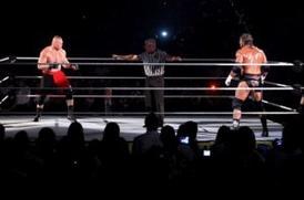 Un « MMA-Style Fight Match » entre Brock Lesnar et Triple H ?