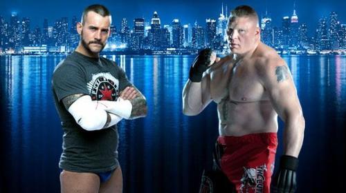 Une rivalité Brock Lesnar/CM Punk prochainement ?