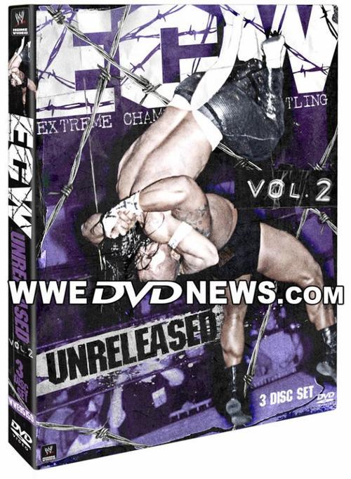 """Couverture du DVD """"ECW Unreleased Vol. 2"""""""