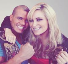 Un couple à la WWE se marie