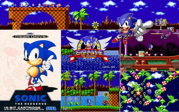 Megadrive : Sonic 1