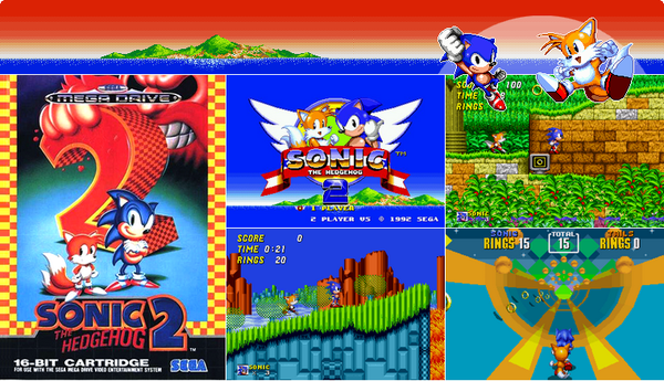 Megadrive : Sonic 2