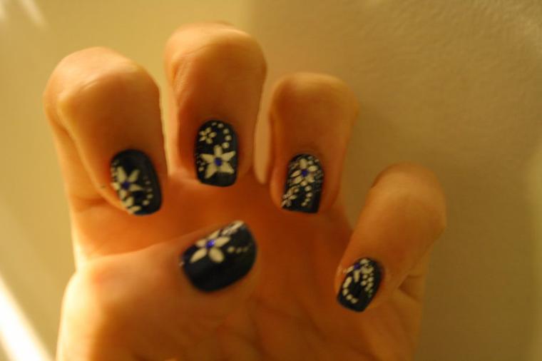 Nail Art étoiles
