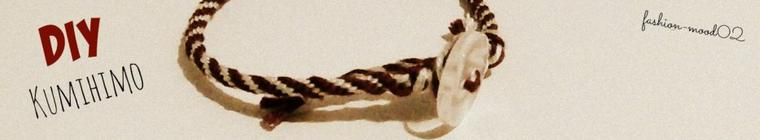 "DIY: bracelet ""kumihimo"""