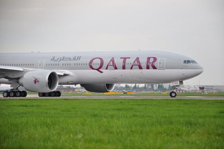 Boeing 777-300ER Qatar Airways