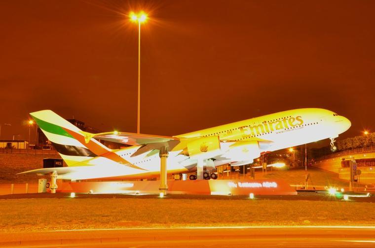 Maquette Airbus A380-800 Emirates