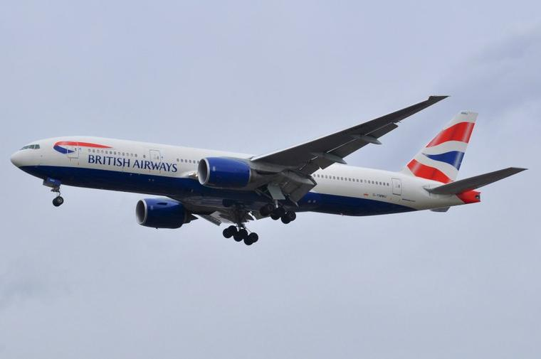 Boeing 777-200ER British Airways