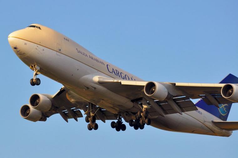 Boeing 747-400 Saudi Arabian Airlines Cargo