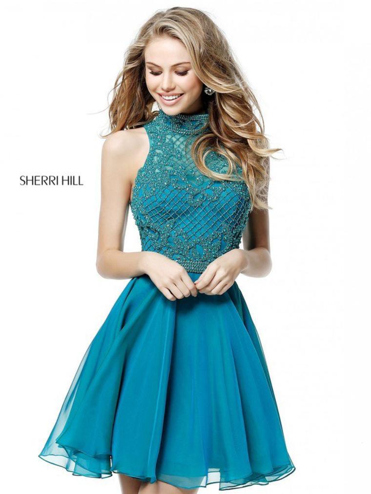 Jade For Sherri Hill 51276 Homecoming Dresses