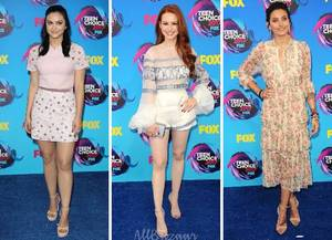 Best looks... Teen Choice Awards 2017
