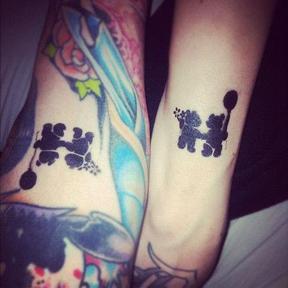Tattoo Less-than 3!