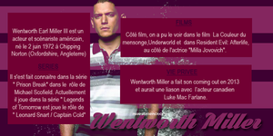 Acteur : Wentworth Miller