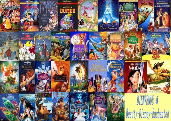 Les grands classiques de Disney