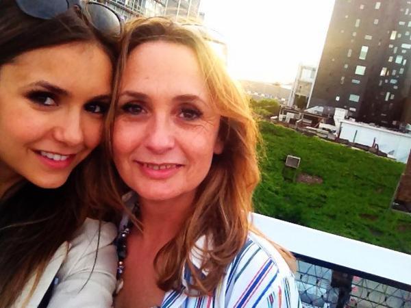 Nina et sa mère ♥
