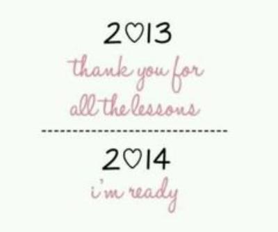 Tag n°1 : Bye Bye 2013 ♥