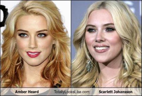 vs de stars   ( ça faisait longtemps ^^) scarlett johanson et amber heard,  on dirait des soeurs!!
